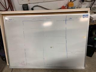"48"" X 72"" Magnetic Whiteboard"