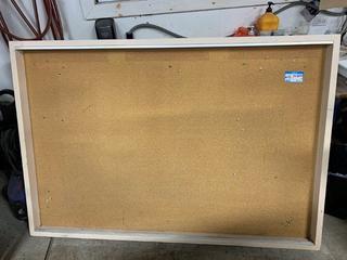 "Approx 48"" X 72"" Cork Board"