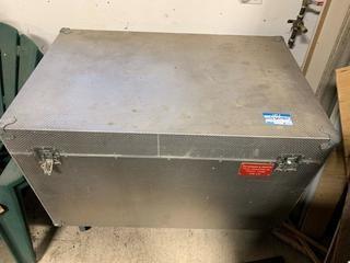 "47.5"" X 30"" X 29"" Portable Metal Drum Box"
