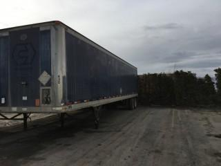 Selling Offsite - 1994 Great Dane 48' T/A Dry Van Trailer