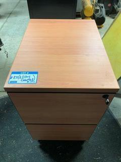 2-Drawer Portable Filing Cabinet
