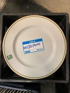 Qty Of (20) Dinner Plates