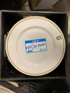 Qty Of (24) Dinner Plates