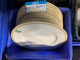 Qty Of (11) Dinner Plates