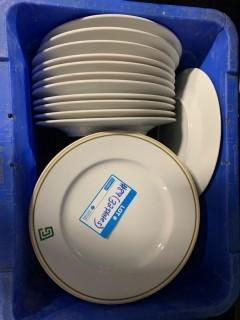 Qty Of (32) Dinner Plates