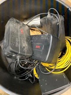 Qty Of APC Battery Back Ups And Misc Supplies