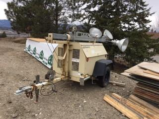 Selling Offsite - 1999 Ingersoll Rand Portable Light Tower