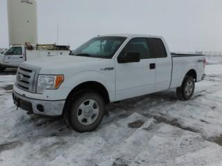 2012 Ford F150 4x4 Extended Cab P/U