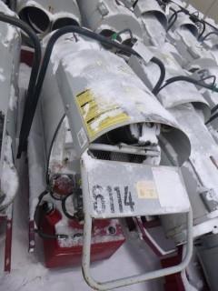 Frost Fighter Oil/Diesel Fired Heater. Unit 6114