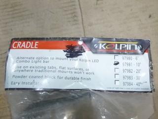 "Kolpin LED Combo Light Bar Cradle (10""), Part 97981"