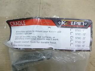 "Kolpin 20"" LED Combo Light Bar Cradle, Part 97982"