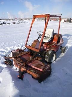 """Jacobsen Riding Lawn Mower, Model T422D, Approx Deck 72"""" * Not Running (Diesel)* *Manual Located In Office*"""