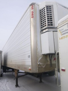 1998 Utility Reefer Trailer, 48 Ft, T/A, Spring Suspension C/w Thermo King Refrigeration Unit, Contents Included, VIN 1UYVS2488WU413802. Unit 4108