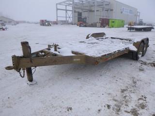 2006 Trailtech L-270 2,760 KG 16' Car Hauler T/A Trailer, C/w 2' Dove Tail, 8' Wide, Pintle Hitch, VIN 2CU138JA962020157
