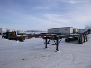 "1987 Columbia Tri-Axle Container Chassis, 40'6"" in Length,C/w Spring Suspension, VIN 2C9GFD2V5H1026097"