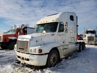 2006 Freightliner CST120 Truck Tractor Heritage Edition, DDC60-14.0 Litre Diesel, 455HP Eaton Fro-15210C 10 Speed Manual, C/w 40x80 Sleeper, VIN 1FUJBBCK46LW20812