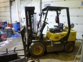 Doosan Daewoo G30P-3 LP Forklift. Showing 8704hrs. SN GB-01231