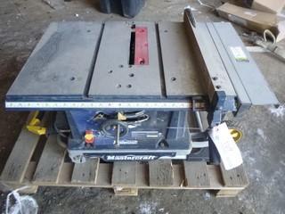 Mastercraft 10in 120V Table Saw w/ Laser Line