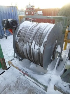 Ground Heater Cable Line C/w Automated Reel Stand