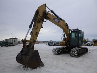 "2012 Caterpillar Hydraulic Excavator 320D,  C/w 12 Foot Stick,  57"" Straight Edge Bucket Q/C ,S/N CAT0320DCSPN01420, Showing 4965.9 Engine Hours"