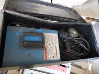 Miller WC-115A MIG Welder C/w Job Box. SN KJ075842