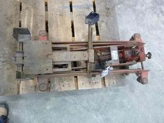 Norco Transmission Jack, Model 4UJ800C, 800KG Capacity S/N 980489A *NOTE: Requires Pump Handle Seal* (O-S-N-F)