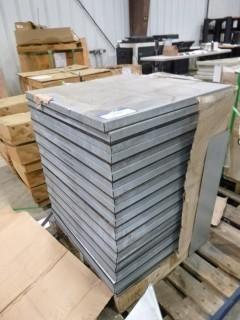 Quantity of Raised Floor Tiles (N-F)