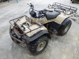 98 Suzuki D7 / 97 Quad, Showing 9662 KM, C/w Front Winch, VIN JKALF8B12NB520B84 (Note No Battery, Damaged Air System, Not in Running Condition)