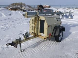 2005 Ingersoll Rand Light Source Light Tower, Showing 10203HRS, S/N 3506310J0789 (W-F)