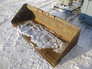 "Bobcat Skid Steer Smooth Bucket, Approx 80"" Wide, Model 6726344"