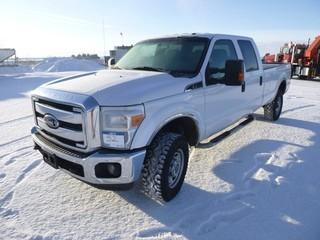 2012 Ford F-350 XLT Super Duty 4x4, 6.2L Gas, Showing 284073 Km, LT265/70R17 Tires, MP3, Sync Capability, 8' Box, A/C, VIN# 1FT8W3B64CEC74250 *Note Missing Side Emblem*