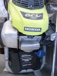 Ryobi Portable Pressure Washer, 3000PSI, C/w GCV 160 Honda Engine, Automatic Soap Dispenser, Ryobi Wash Wand (W-R-2-18)