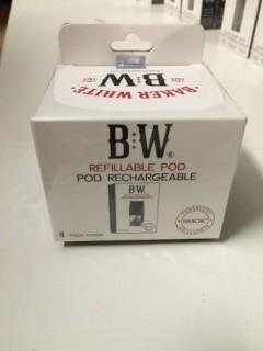 Baker White 8 Pack Refillable Pods.