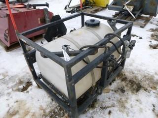 Water Tank, 300L  MV2 Attachment On Skid
