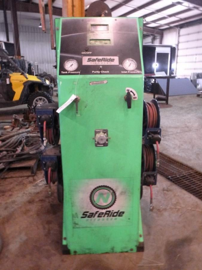 Safe Ride Nitrogen Tire Inflator, SN 111730
