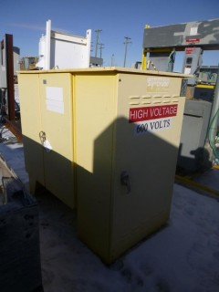 AC Dandy 600V 400Amp High Voltage Regulator Box. SN 01-13118