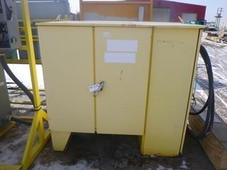 AC Dandy Model PDU-B 600V 3-Phase High Voltage Regulator Box. SN 01-13103