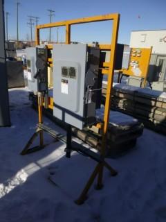 Square D 600V 3-Phase Heavy Duty Safety Switch Assembly