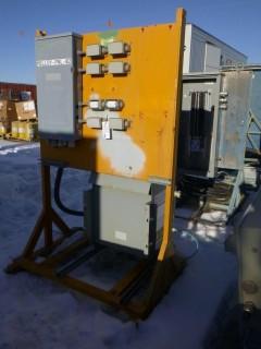 Hammond Power Distribution Assembly C/w Hammond 3-Phase 600V Dry Phase Transformer