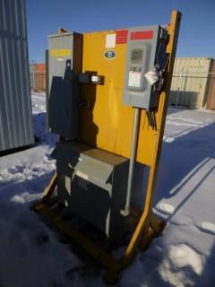 Wirtanen 600V 3-Phase Breaker Box/Transformer Assembly