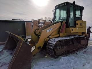 2007 Deere 755C Series II Crawler Loader