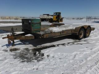 Airdrie 18' T/A Ball Hitch Utility Trailer