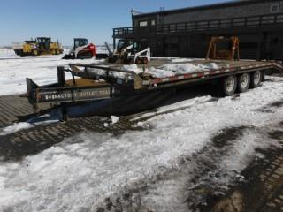 2008 Canada Trailers T/A Pintle Hitch Equipment Trailer