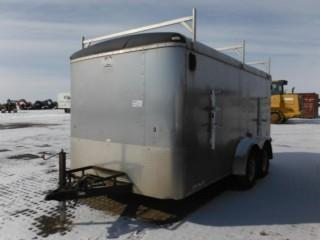 2007 Forest River 14' T/A Enclosed Trailer