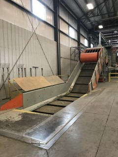 Ring-R Pit Conveyor S/N 73367. *Dismantled in Transportable Sections & Ready for Loading at Buyers Expense*