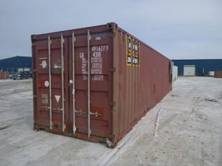 40ft Storage Container *Note: Buyer Responsible For Load Out*