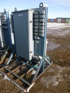 Eaton 120V 3-Phase Panel Board C/w Rex 3-Phase Transformer