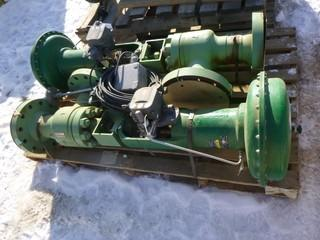 (2) Fisher Size 70 Actuators
