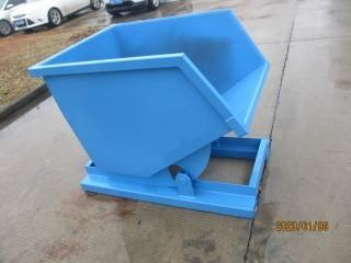 *New*  Unused Standard Duty Steel Dumping Hopper - 1/2 Cubic Yard (0.5 CBM)