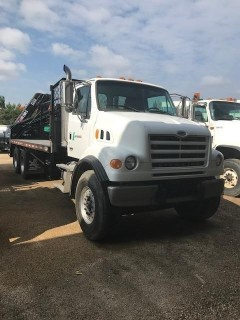 2007 Sterling L900 TA Flat Deck Picker Truck